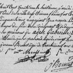 ° 1831 MAUSSIER Adèle Gabrielle Aline