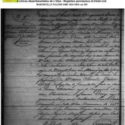 ° 1853 Thieble Marie Clorinde