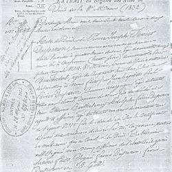 † 1832 FAVIER Pierre Joseph