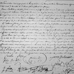 x 1824 FAVIER Etienne Barthélémy Adolphe & FAURE Catherine